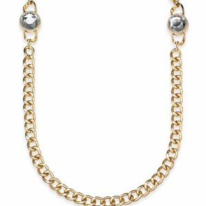 GOLD METAL NECKLACE